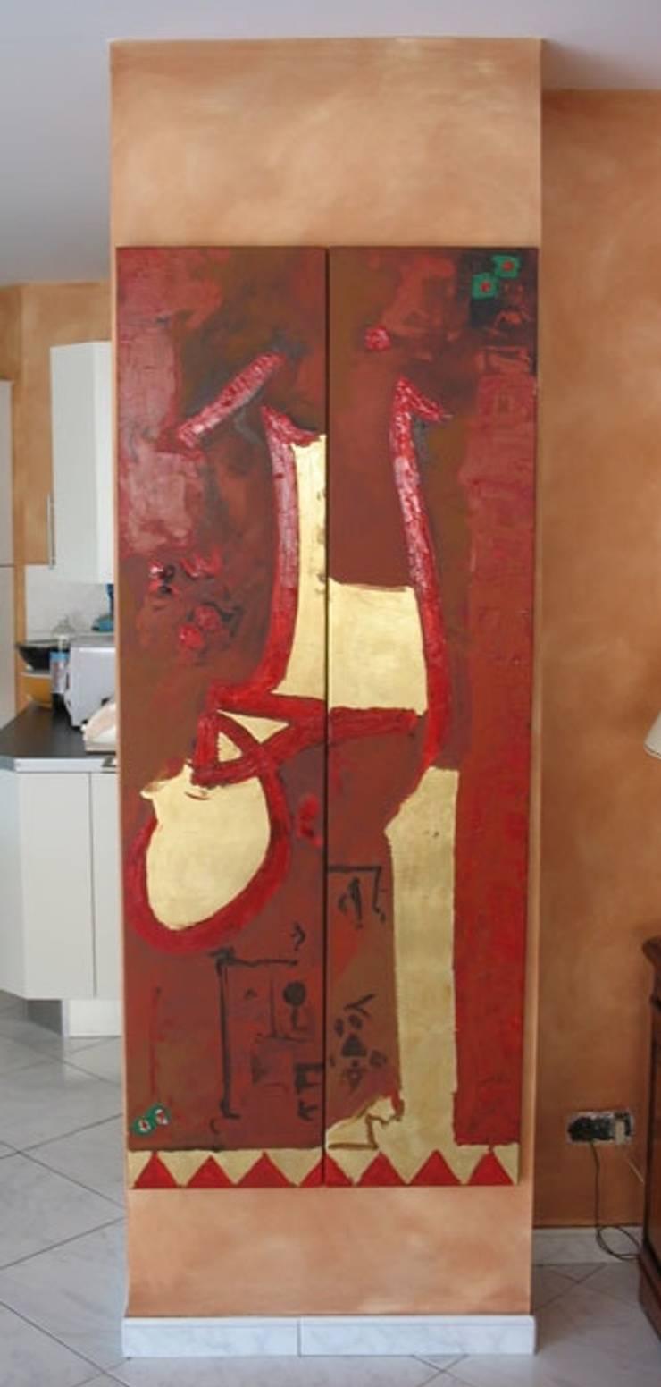 Créations sur toile: Couloir, entrée, escaliers de style  par THIERRY HERR