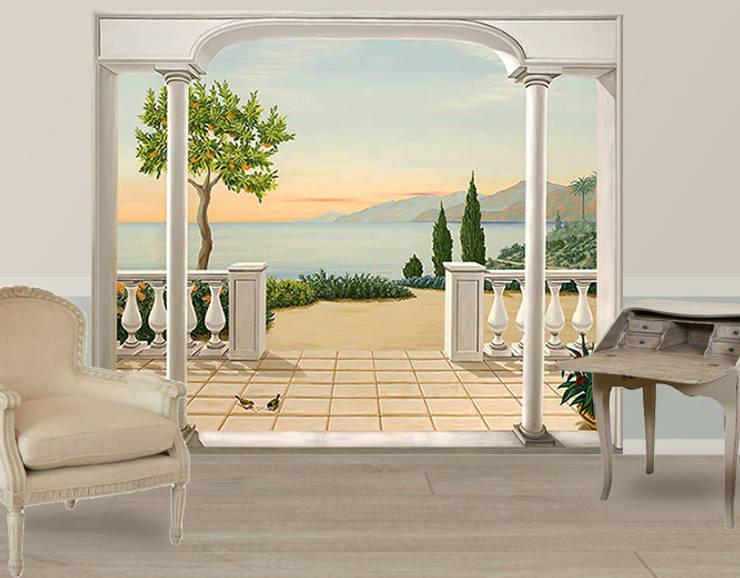Papiers Peints Panoramiques Trompe L Oeil Par Belmon Deco Homify