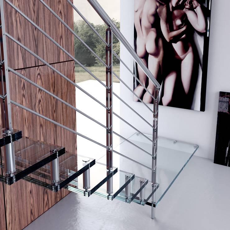 Projekty,  Korytarz, hol i schody zaprojektowane przez Enesca