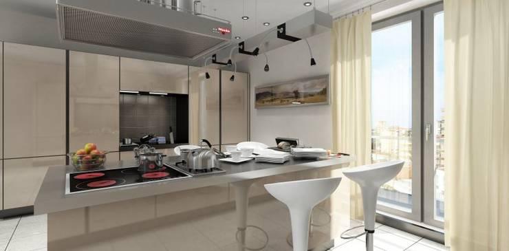 MONO MİMARLIK İNŞAAT – Batur Çatalçeşme:  tarz Mutfak