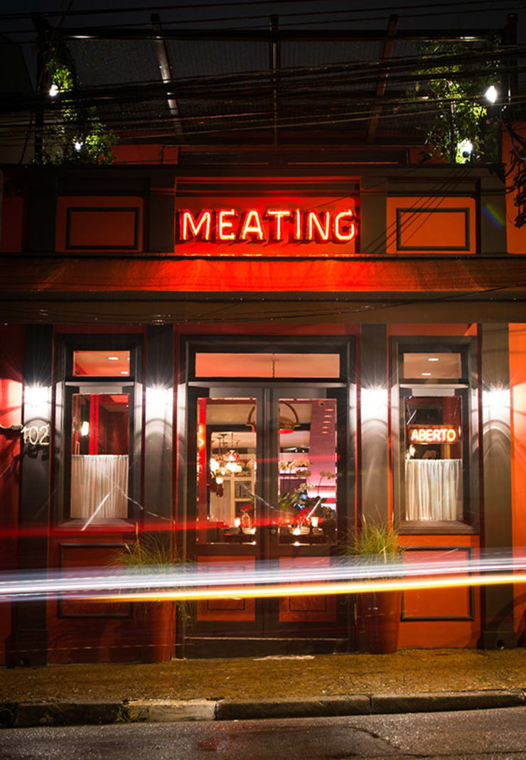 Meating Bistrô a Viandes - São Paulo/Brasil: Bares e clubes  por Osvaldo Vintage Store,Industrial