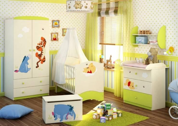 Projekty,  Pokój dziecięcy zaprojektowane przez Möbelgeschäft MEBLIK