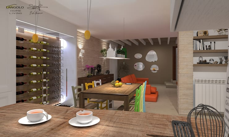 Cantina_Tavernetta: Cantina in stile  di FRANCKSONN HOME srls