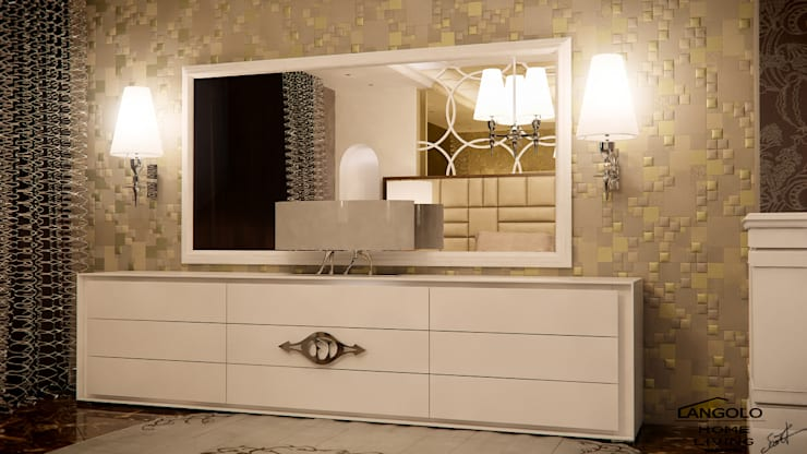 Night Luxury : Camera da letto in stile  di FRANCKSONN HOME srls