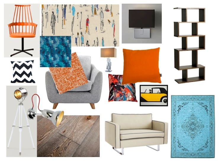 retro living room 60's retro living room by tracey andrews interiors homify