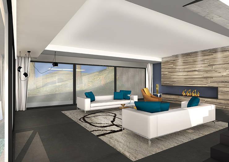 MAISON BIARRITZ Aménager une villa de bord de mer… : Paysagisme d'intérieur de style  par Camille&Tifany