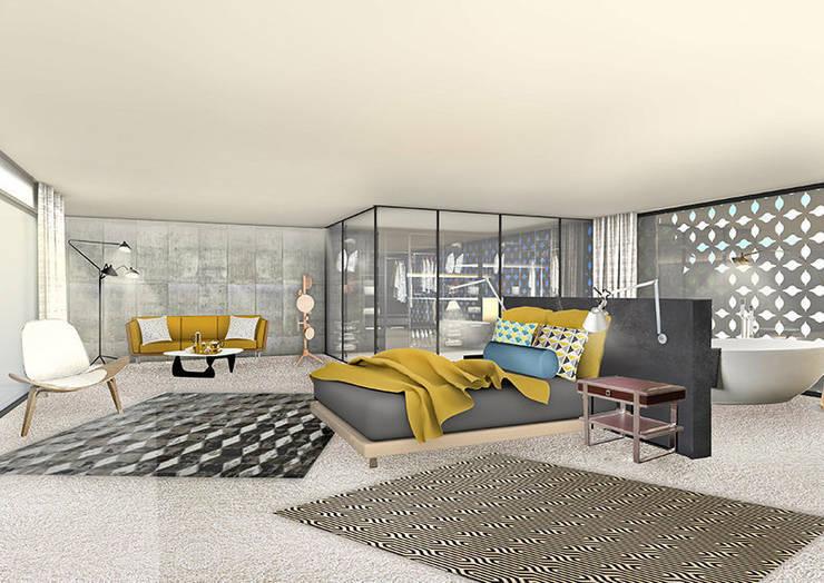 Comment faire entrer le panorama dans un espace hors du commun.:  de style  par Camille&Tifany