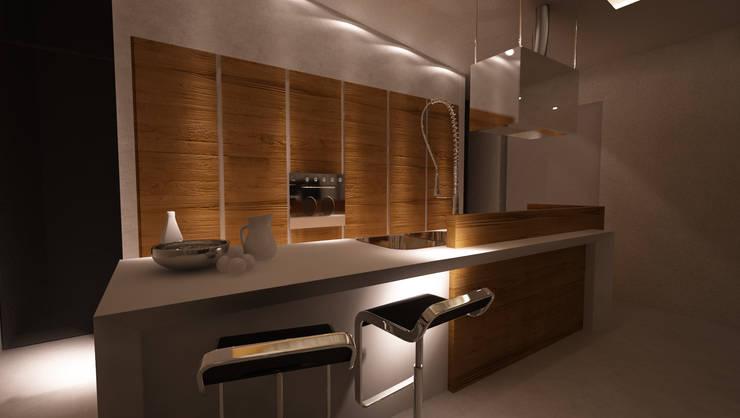 Cocinas de estilo moderno por Studio di Segni