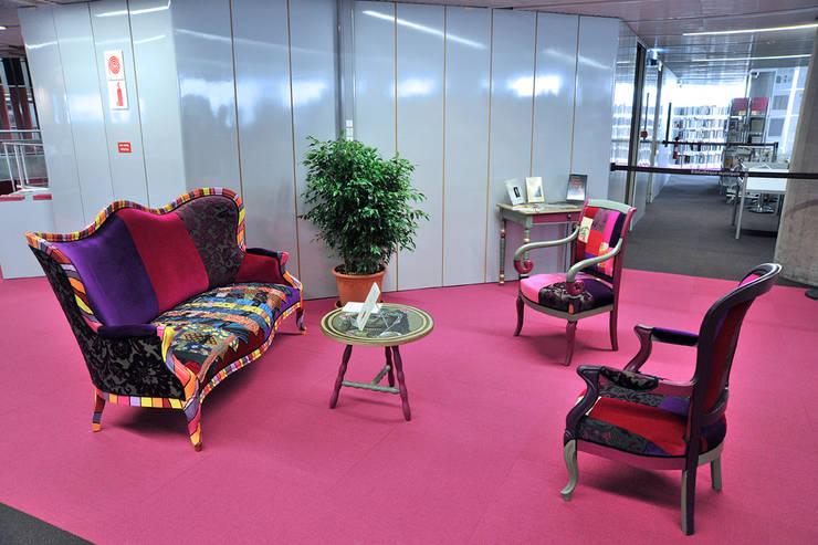 Aménagement d'un espace baroque: Salon de style de style eclectique par ATELIER D'éco SOLIDAIRE