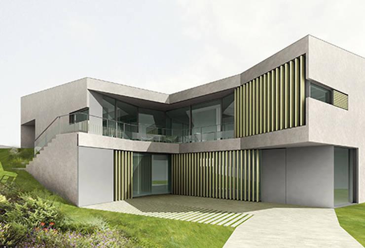 casa Valldoreix:  de estilo  de 05 AM arquitectura