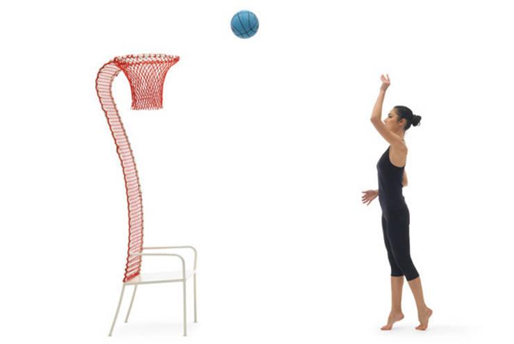 lazy basketball:  in stile  di EMANUELE MAGINI designer, Eclettico