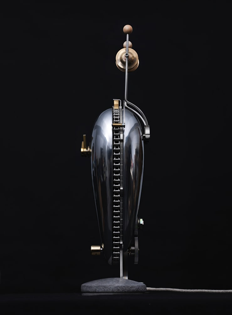 Side View of Clock:  Household by BLOTT WORKS