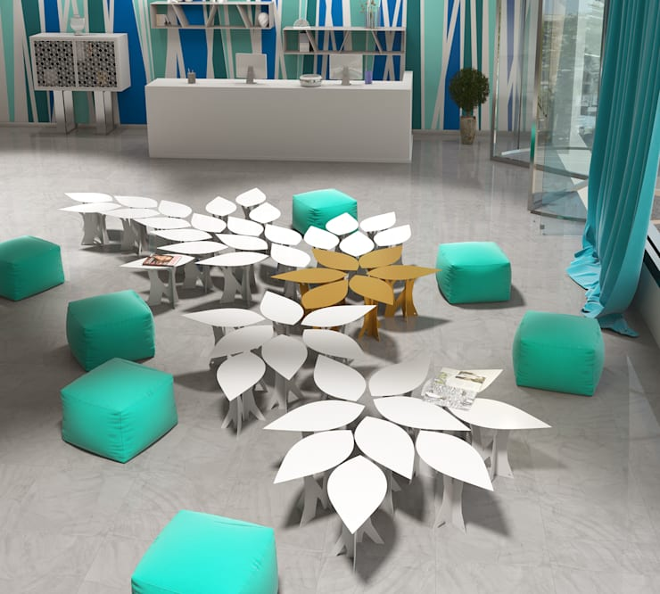 Mesa Lif Küpu:  de estilo  de Küpu Muebles Inesperados
