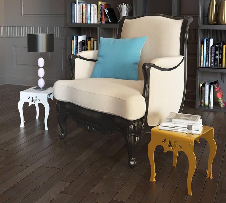 Mesa Mariposa Mini Küpu:  de estilo  de Küpu Muebles Inesperados