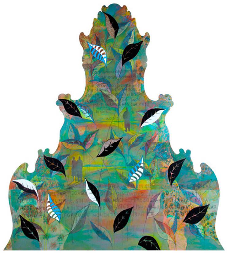 'Cabecero Antiguo' by Seara Küpu:  de estilo  de Küpu Muebles Inesperados