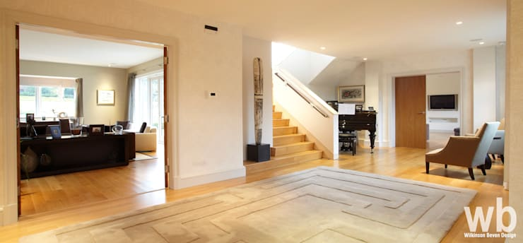 Private Family Home - UK:  Houses by Wilkinson Beven Design