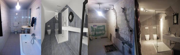 Un bagno per qualsiasi stile: Bagno in stile in stile Eclettico di Inarte Progetti di Lucio Mana