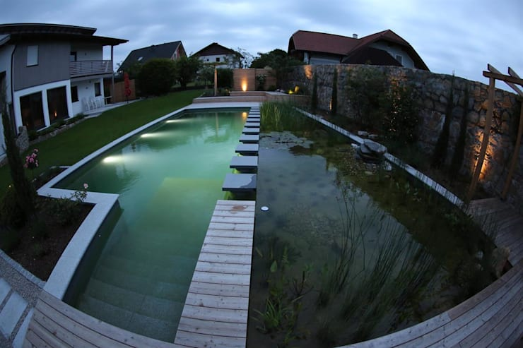 BIOTOP - Walk on Water:   by BIOTOP Landschaftsgestaltung GmbH
