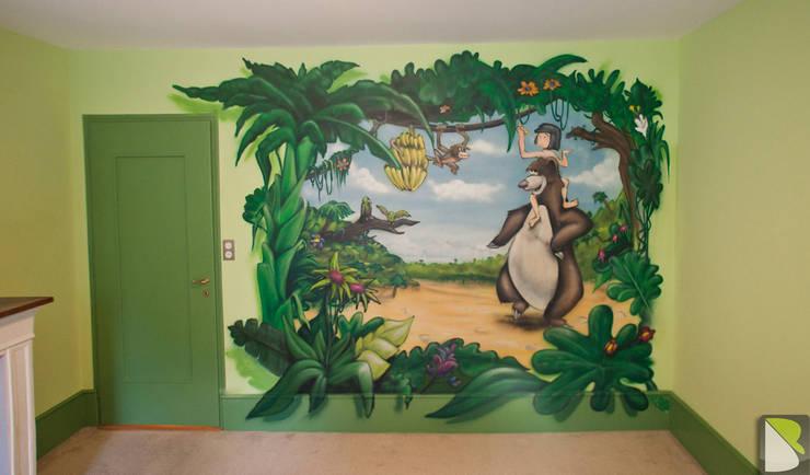 Le Livre de la Jungle Trompe-l'oeil:  de style  par BAROGRAFF