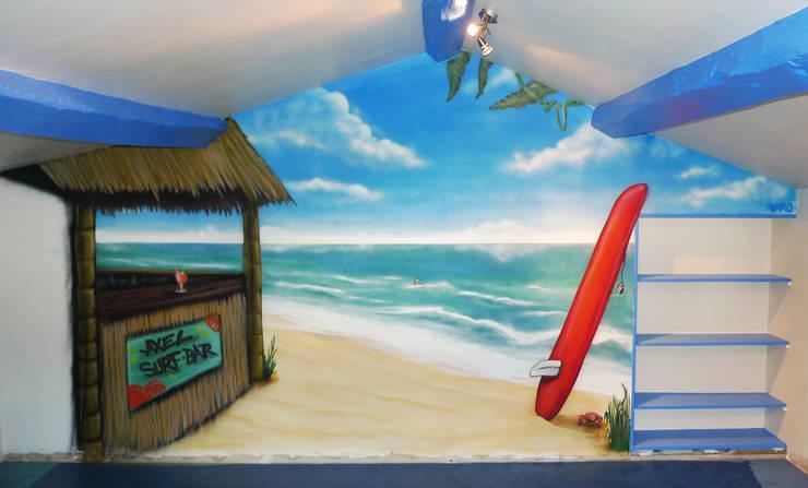 Surf Room pour Axel:  de style  par BAROGRAFF