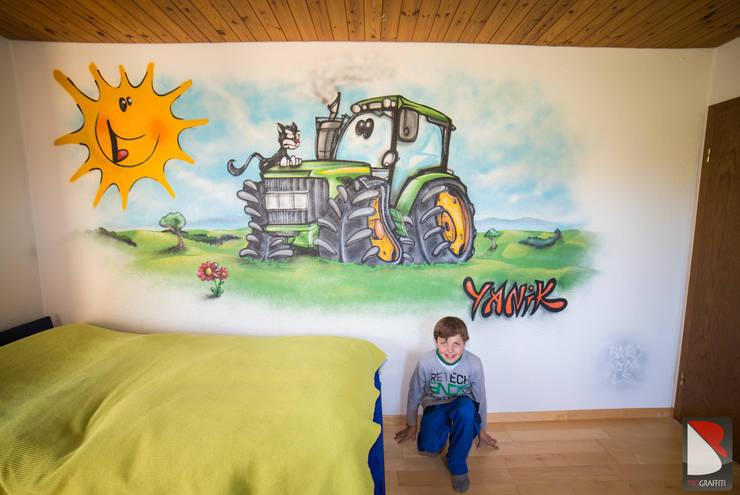 Tracteur pour Yanik:  de style  par BAROGRAFF