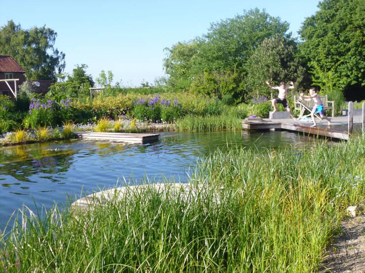 BIOTOP - The Garden of Eden, Ellicar Gardens:  Garden  by BIOTOP Landschaftsgestaltung GmbH