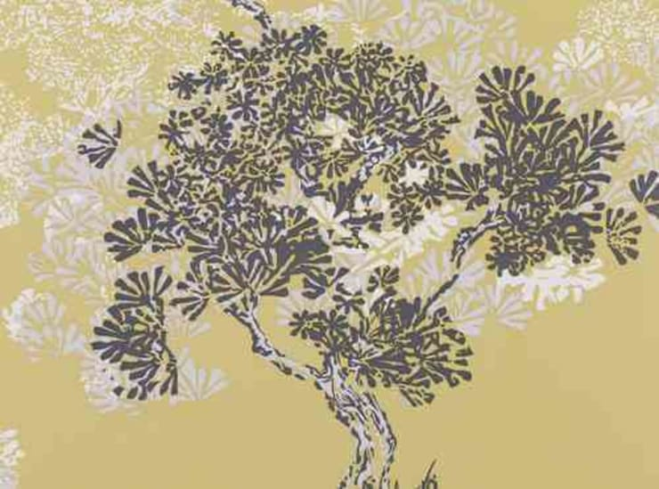 Papel Pintado Orvieto Wallcobering PAPEL PINTADO ORVIETO WALLCOVERING QUINCE:  de estilo  de Demarques.es