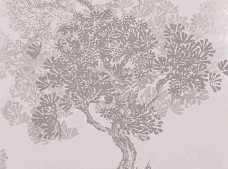 Papel Pintado Orvieto Wallcobering PAPEL PINTADO ORVIETO WALLCOVERING NICKEL:  de estilo  de Demarques.es