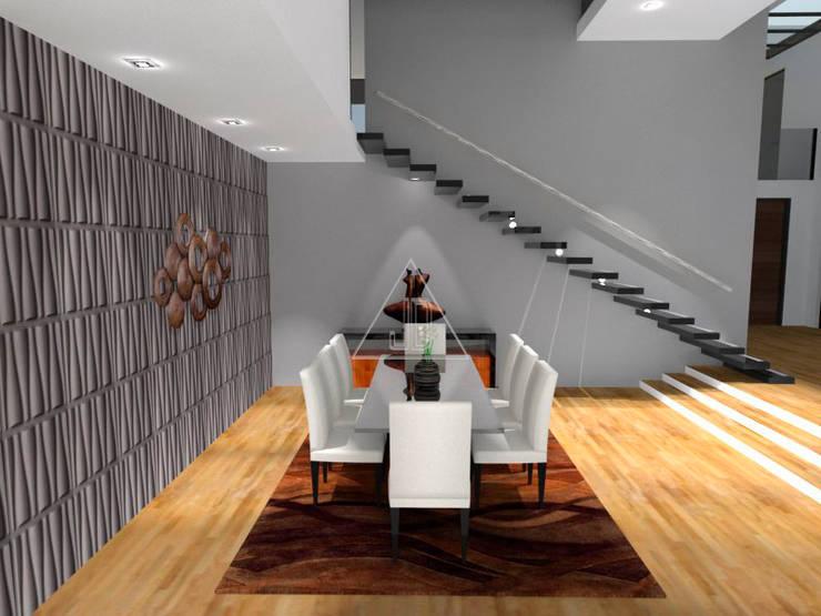 Vanguardia y elegancia / Vanguard and elegance: Casas de estilo  de Julia Design