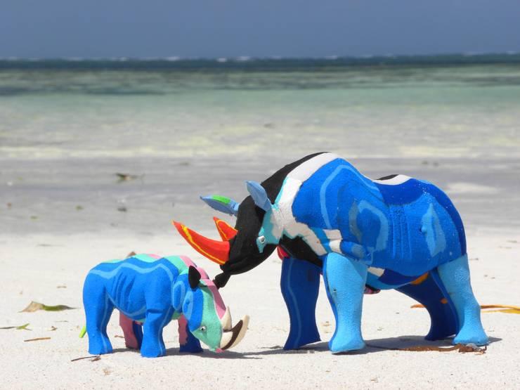 Tierfiguren aus Flipflops:   von Upcycling Deluxe