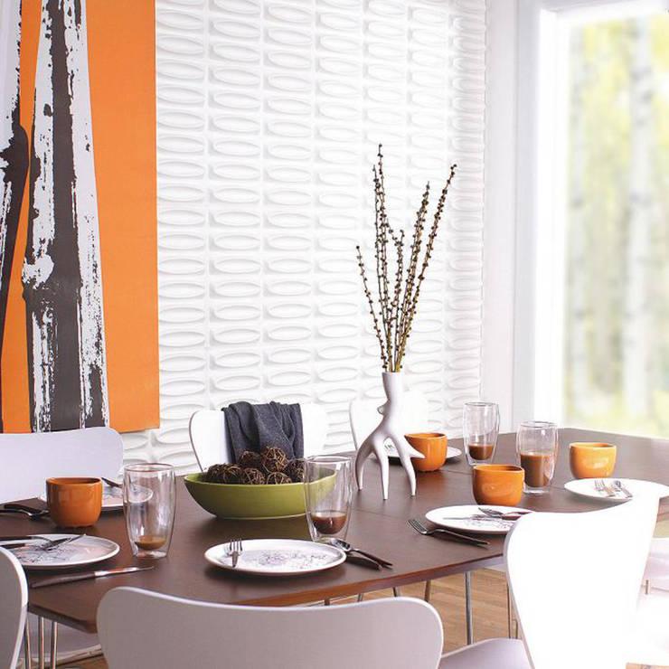 Wallflat Architecte: Salle à manger de style  par Art Unic