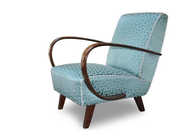 Poltrona Art Deco: Soggiorno in stile  di Italian Vintage Sofa