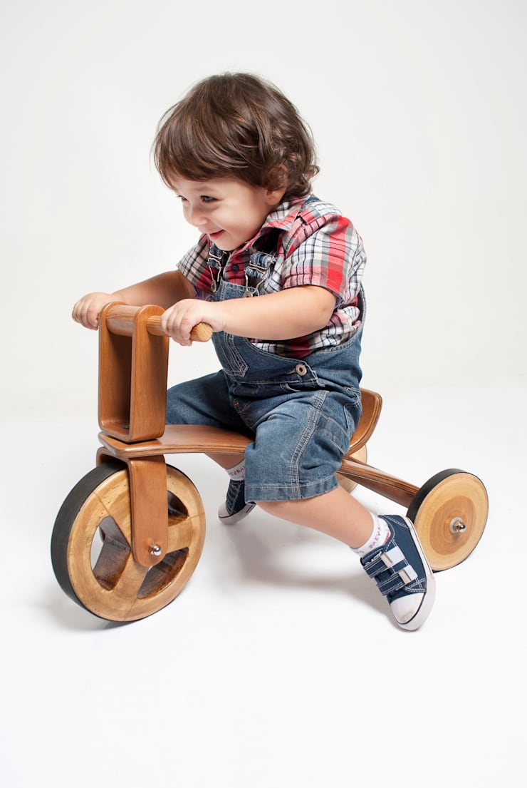 ​Woody Tricycle:   por Gustavo Martini,Minimalista