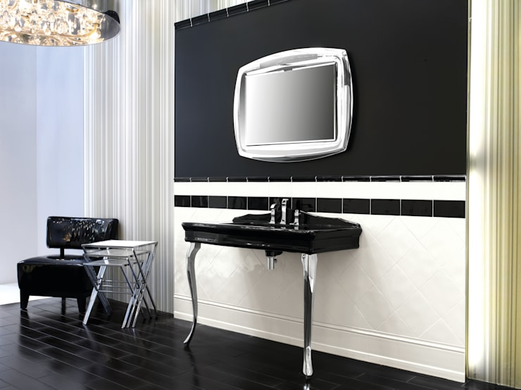 Salle de bain de style  par Ceramiche Grazia