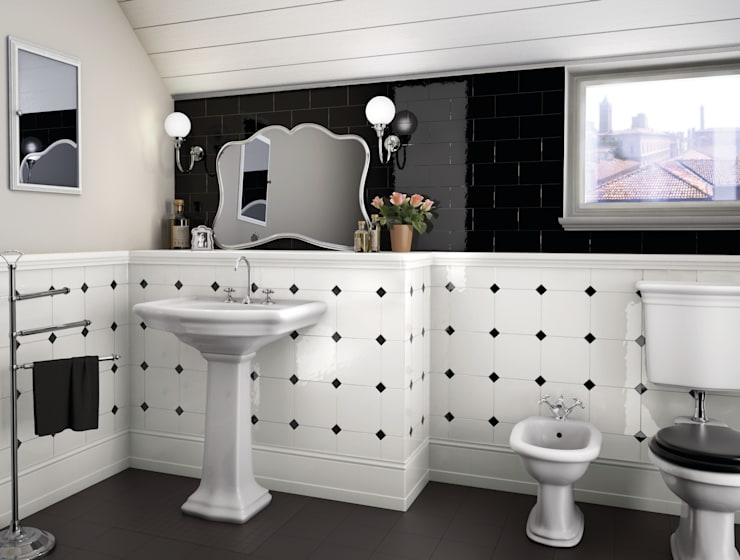 Bathroom تنفيذ Ceramiche Grazia