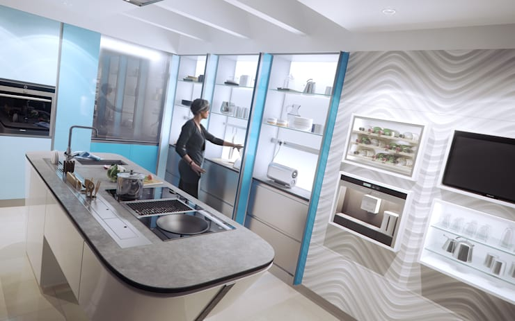 Cocina : Cocina de estilo  de became Arquitectura Interior