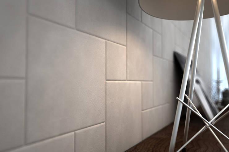 Residenziale: design e calore: Pareti & Pavimenti in stile  di Lapèlle Design