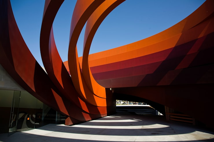 DMH Courtyard:  Museums by Ron Arad Architects