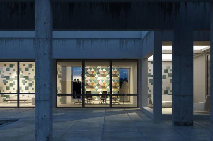 Ufficio: personalità e ricercatezza: Studio in stile  di Lapèlle Design