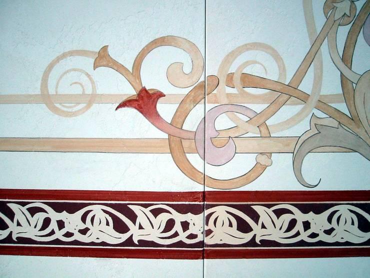 Ornament, Reproduktion:  Wohnzimmer von Wohnen & Kunst