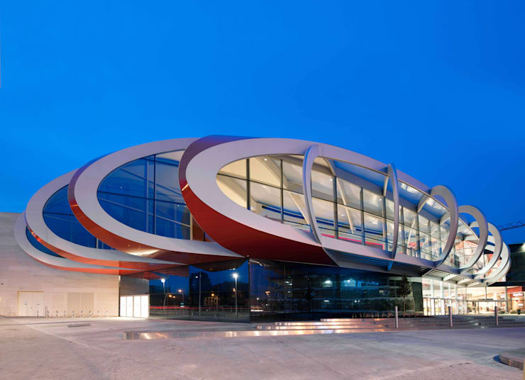 Mediacite:  Shopping Centres by Ron Arad Architects