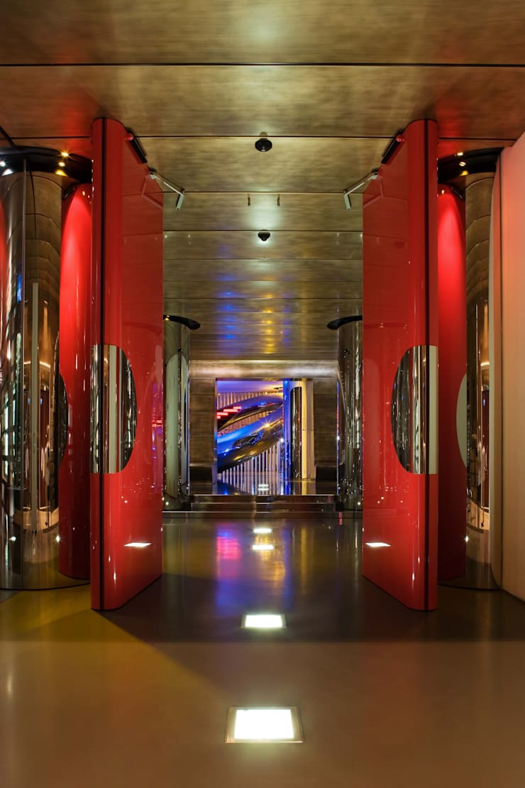 Duomo:  Hotels by Ron Arad Architects