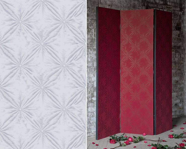 Papier peint Silk: Salon de style  par Au Fil des Couleurs
