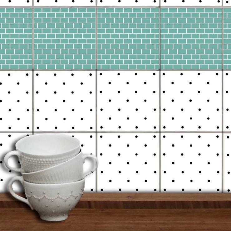 Fliesenaufkleber:  Wände & Boden von WandAkzente