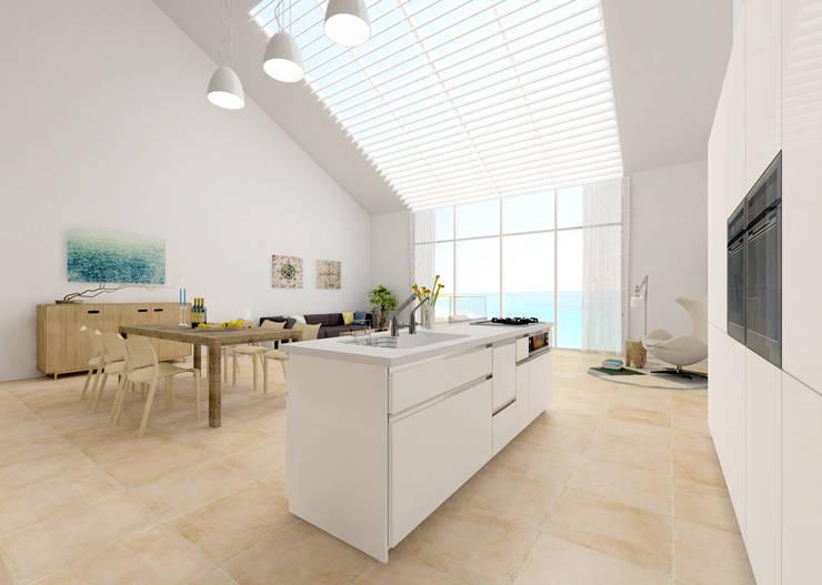 Casa Mediterránea: Casas de estilo  de AC Studio