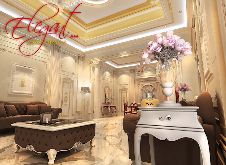 luxury villa:  Houses by elegant interior design llc