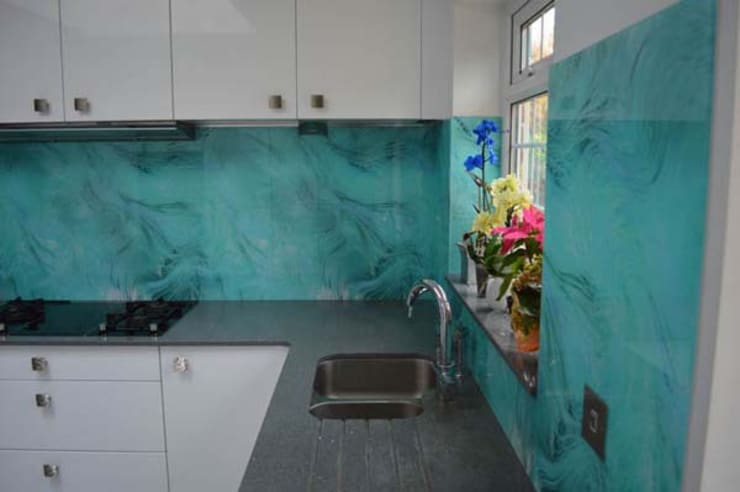 Printed Kitchen Glass Splashbacks:  Bedroom by bohdan.duha