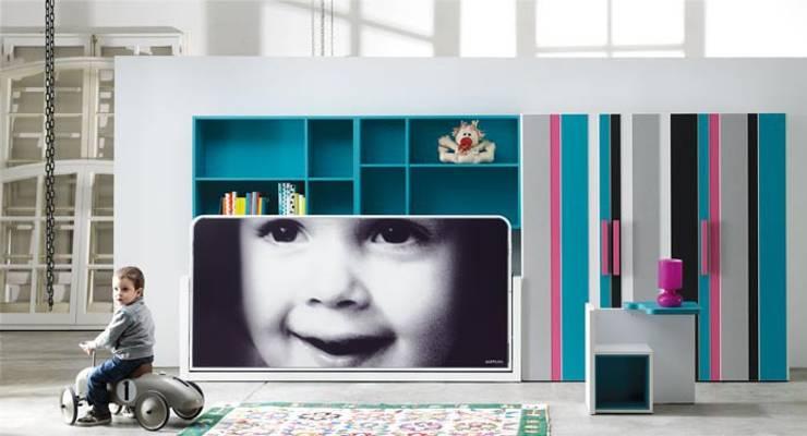 Muebles juveniles: Habitaciones infantiles de estilo  de ambara