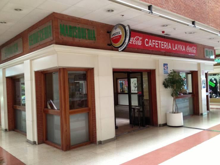 Reforma integral de un Bar :  de estilo  de Démeri estudio
