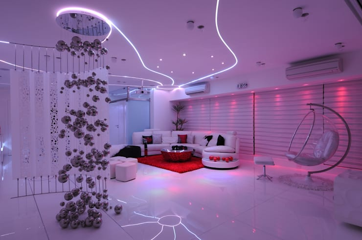 modern Living room by Mybeautifulife
